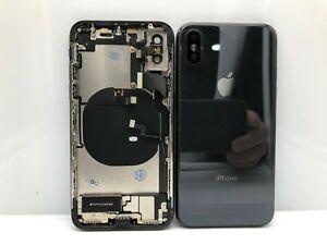 Chasis Original Desmontaje De IPHONE X Con Componentes Color Negro 24h
