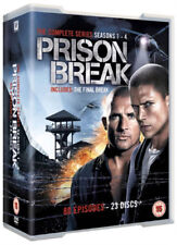 Prison Break Series 1-4 Complete (DVD, 2012, Box-set)