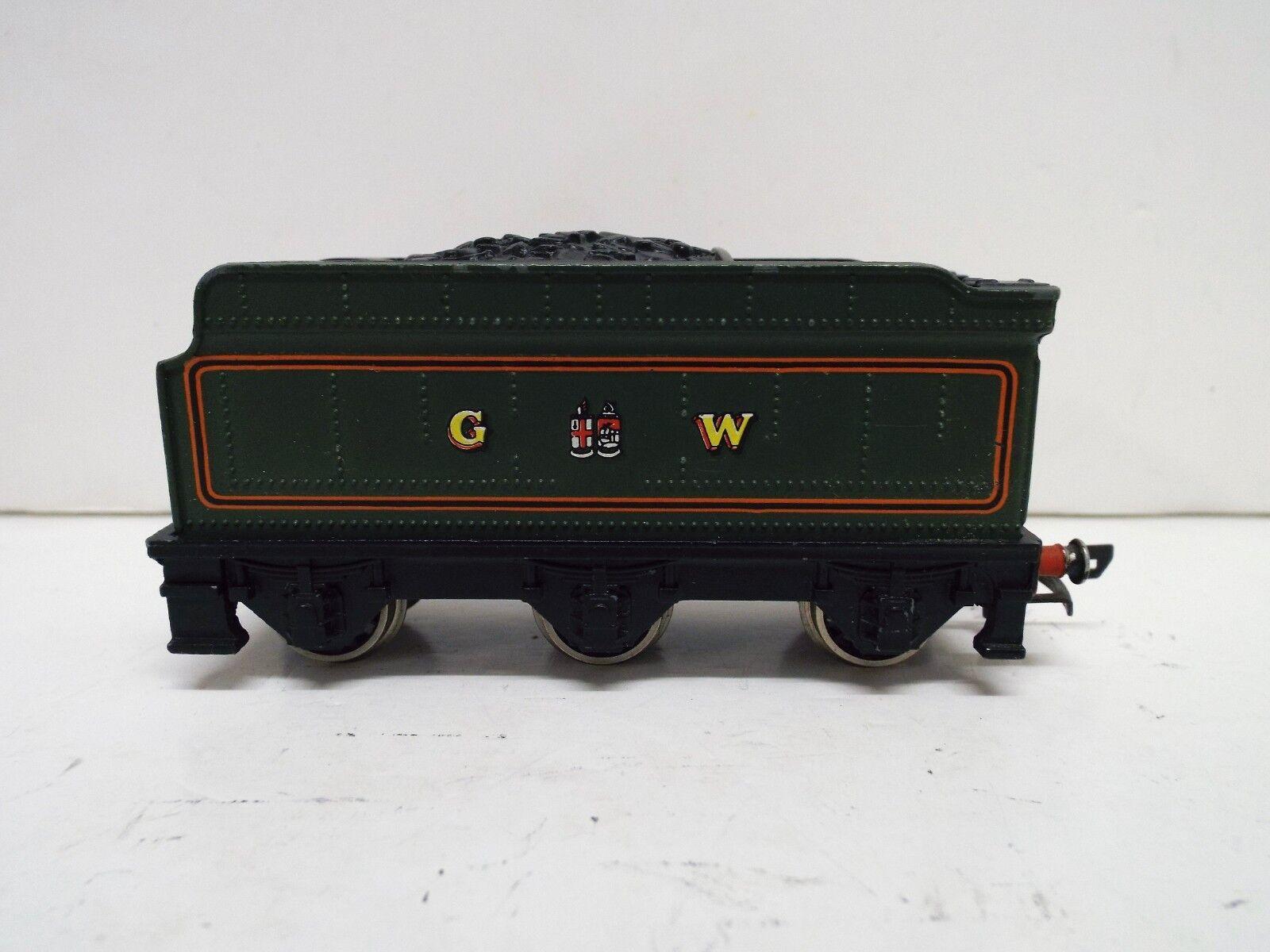 WRENN OO GAUGE CASTLE CLASS GWR TENDER GREEN EXCELLENT  (SP1)