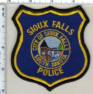 SIOUX FALLS SOUTH DAKOTA SD POLICE PATCH