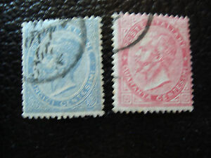 Italy-Stamp-Yvert-and-Tellier-N-17-19-Obl-A11-Stamp-Italy