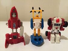 Transformers G1 Minibots Lot of 3 - Seaspray, Swerve, Powerglide - Gen1