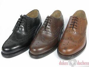 J.Briggs Rahmengenähte Leder Schuhe Budapester Fullbrogue Oxford ... a5ddcbf5de