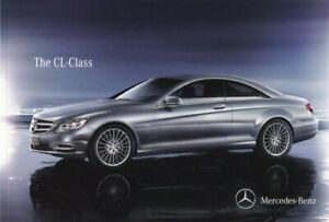 Mercedes-Benz CL-Class UK Brochure 2011 CL65 AMG/CL63/CL600/CL500 86 Pages