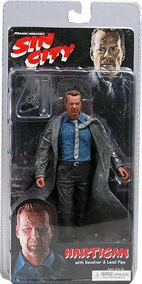 Sin City Bruce Willis Hartigan Color Variant Figure by NECA