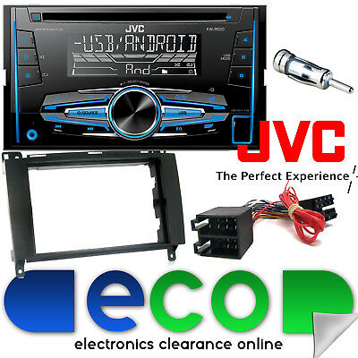 Volkswagen Crafter Van 2006-13 JVC CD MP3 USB Double Din Car Stereo  Fitting Kit