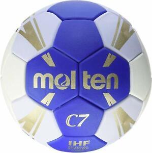 Molten H2c3500 Bw Game Handball Ball Blue White Gold Size 2 4905741841102 Ebay