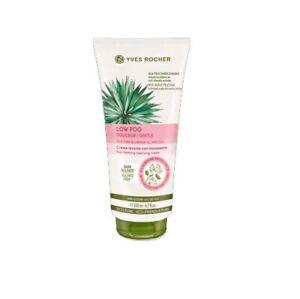 Yves Rocher Cream Shampoo Low Poo Hawthorn Extract Protect Vegan Herbal 200 ml