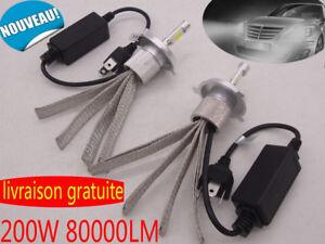 H7-H4-H11-H1-LED-Voiture-Phare-Kit-CREE-Lampe-Feu-Headlights-Conversion-Ampoule