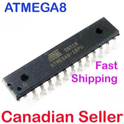 10pcs ATMEL ATMEGA8-16PU Microcontroller Chip ATMEGA8 MCU AVR