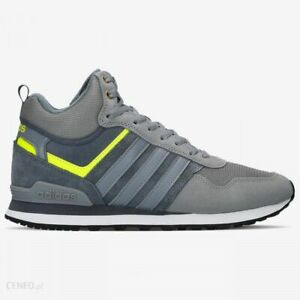 Details about ADIDAS Neo Herren Sneaker 10XT WTR Mid Gr. 41 13 Grau Boot Stiefel Forum Neu