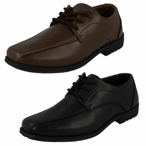 Boys JCDees Brogue Style Formal//School Shoes