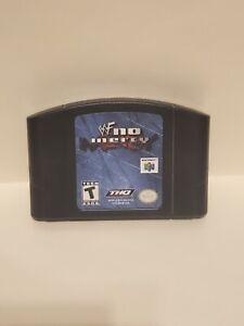 WWF No Mercy Nintendo 64 N64 probado auténtico USA Thq Lucha Libre Wwe ESRB (A-2)