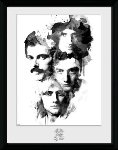 Queen Faces Freddy Mercury Framed Photographic Print 30.5x41cm|16x12 inches