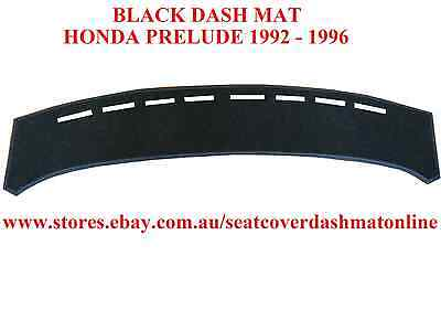 DASH MAT, BLACK DASHMAT, HONDA PRELUDE 1992 - 1996, BLACK