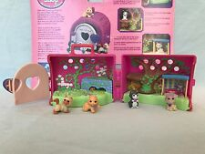 Vtg 1995 Kenner Littlest Pet Shop LPS Country Fun Pets Perky Playful Kitty Cats