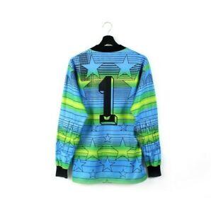 1985 1988 ERIMA vintage goalkeeper jersey goalie shirt West Germany #1 80s S M