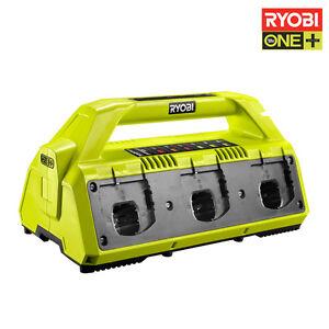 Humoristique Chargeur De Batterie 6 Ports Ryobi 18v Oneplus Lithium-ion Rc18627