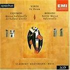 Gounod: Messe Solennelle de Sainte Cécile; Verdi: Te Deum; Rossini: Petite Messe Solennelle (1996)