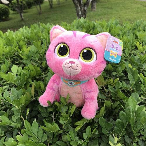 "Disney Jr Doc McStuffins WHISPERS Kitten Cat Pink 7/"" PET VET PLUSH Doll"