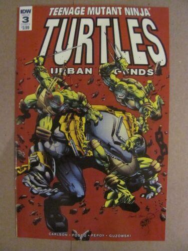 Teenage Mutant Ninja Turtles Urban Legends #3 IDW 2018 Series Variant 9.6 NM+
