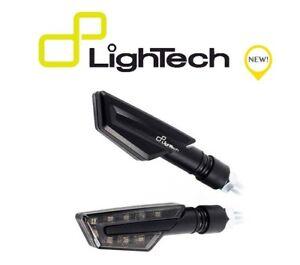 LIGHTECH-COPPIA-INDICATORI-FRECCE-LED-FRE922NER-UNIVERSALI-OMOLOGATE-MOTO