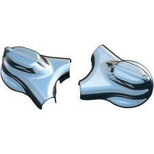 Harley FLSTF Softail Fat Boy 2008-2013Phantom Swingarm Covers Chrome by Kuryakyn
