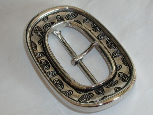 Boucle de ceinture joins Boucle Fermeture 5,8 CM argent neuf inoxydable #463.2#
