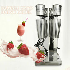 Double Head Drink Mixer Milk Shake Mixing Machine Beverage Blender 110v 18k Rmp