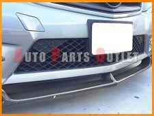 Carbon Fiber V Style Front Lip For 12-14 M-Benz W204 C204 C250 C300 C350 2D/4Dr