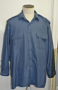 Canadian-forces-navy-blue-shirt-size-17-1-2-x-37-box-86