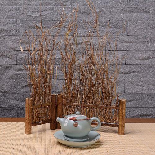 Details about  /1pc Purple Bamboo Fence Small Screen Zen Tea Ceremony Art DIY Desktop Decoration