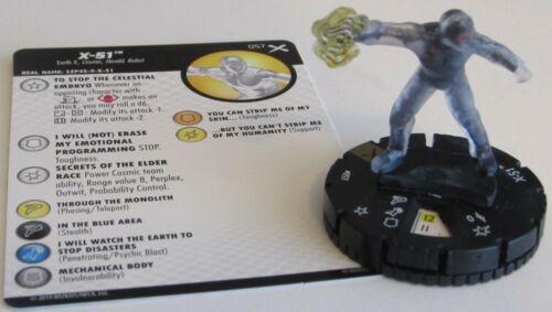 X-51 057 Earth X Marvel HeroClix Super Rare