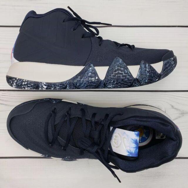 73673ee23c31 Nike Kyrie 4 N7 Mens Basketball Shoes 11.5 Dark Obsidian Standing ...