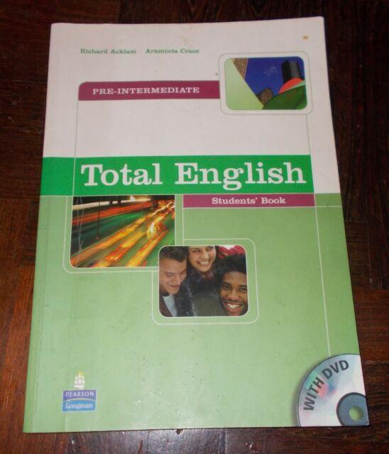 TOTAL ENGLISH PRE-INTERMEDIATE STUDENTS' BOOK CON DVD 2002 PEARSON LONGMAN