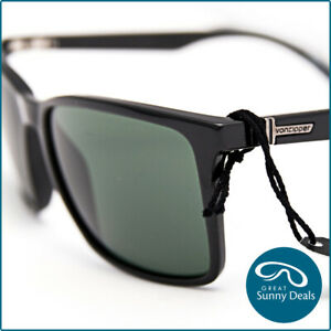 NEW-Von-Zipper-LESMORE-Black-Gloss-Grey-Sunglasses-SMSLES-BKV-RRP-160