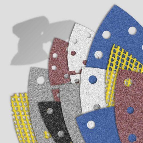 MENZER Schleifpapier Schleifblätter für Deltaschleifer Dreieckschleifer