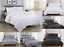 Pintuck-Pinch-Pleated-Duvet-Cover-Bedding-Set-Single-Double-King-With-Pillowcase thumbnail 1