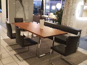 Essgruppe Komplett Esstisch Bank 2 X Armstuhl Und 2 X Stuhl