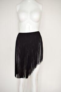 Skirt Fringe Armani Fringes Belt Flapper Black Giorgio Gürtel Amazing Rock Z8xwnq7