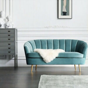 Astonishing Details About Chesterfield Metallic 2 Seater Love Seat Sofa Chair Small Sofas Velvet Scalloped Squirreltailoven Fun Painted Chair Ideas Images Squirreltailovenorg