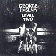 George Haslam - Level Two (Slam Productions SLAM CD 303) Rec.1992  Rel.1993