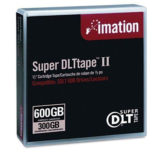 Imation 16988 Super DLT II 300//600GB Data Tape Cartridge for SDLT 600 Drive