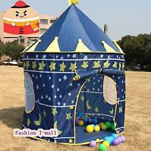 Pop Up Children Play Tent Girls Boys Palace Castle Indoor Outdoor Kids Playhouse