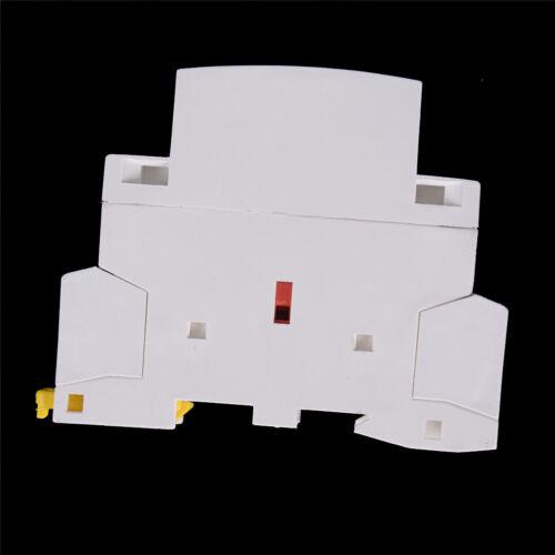 2P 20A 220V//230V 50//60HZ Din rail Household ac contactor 2NO ~GPLC/_sh