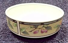 "Mikasa Garden Harvest Intaglio Cereal Bowl 6 3/8"" CAC29 MINT!"