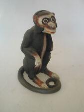 Spardose aus Gußeisen Affe