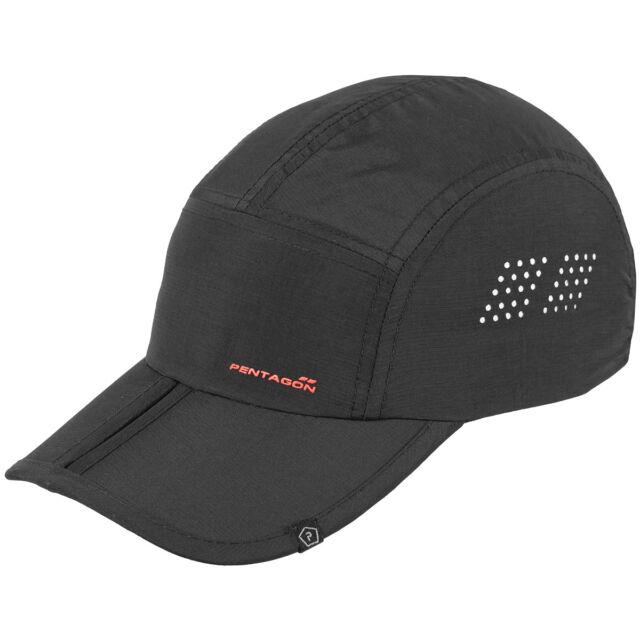 Pentagon Zakros Range Cap Summer Nylon Hat Mens Breathable Army Head Cover  Black 66d86eab61f
