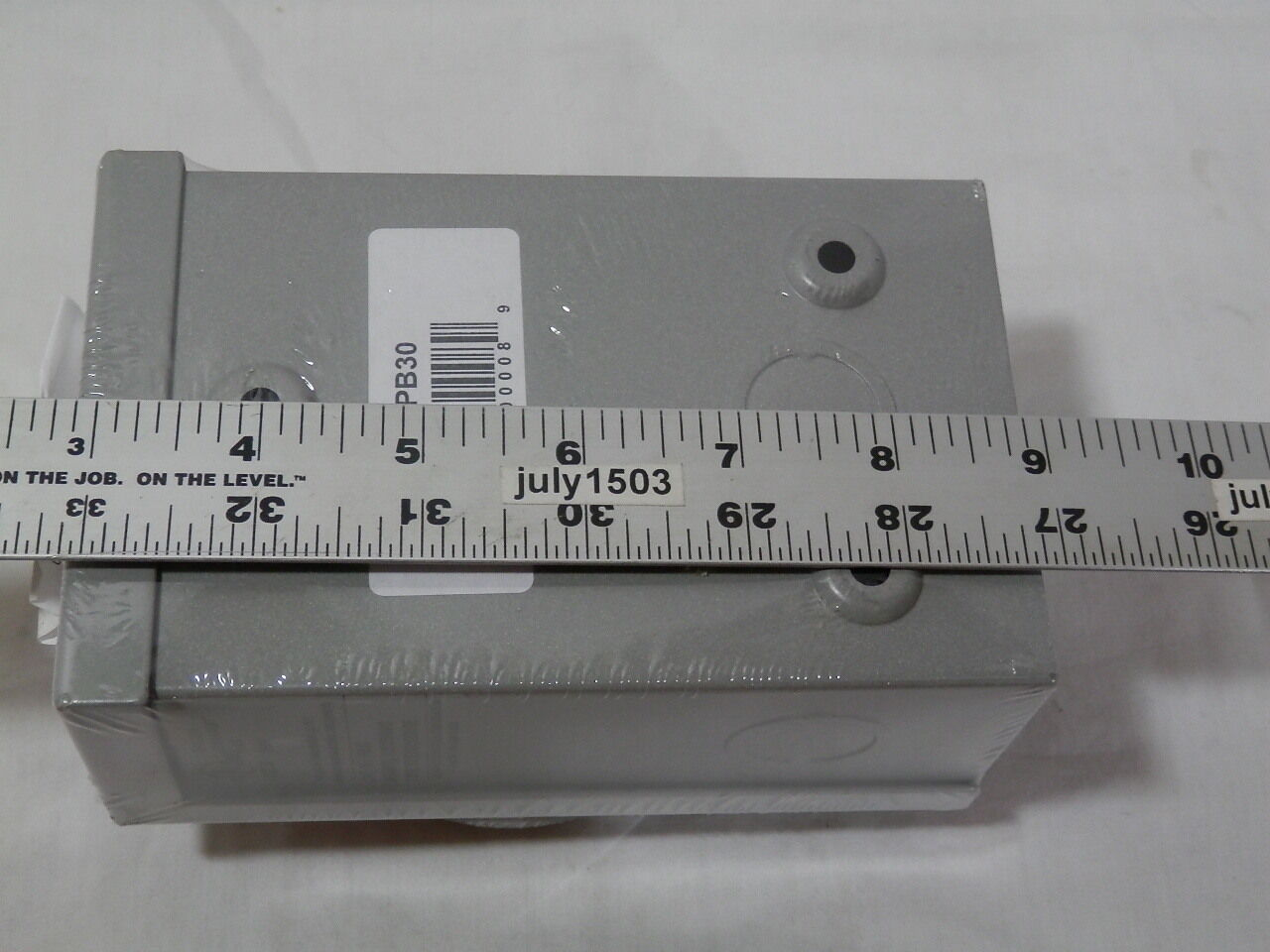 1 New Reliance Pb30 30 Amp Outdoor Power Inlet Box Metal L14 30p Controls L1430 Generator Cord Plug 3r 240 693829396982 Ebay