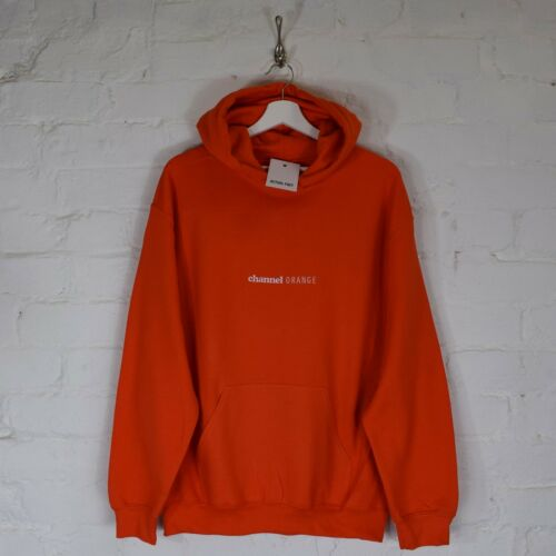 Top Hoodie Embroidered Actual Hip Fact Rap Hop Channel Frank Orange Hooded Ocean rPwzxXPYq